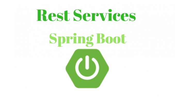 Rest Services With Spring Boot
