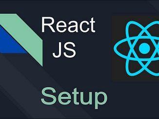 React Setup npm babel webpack.