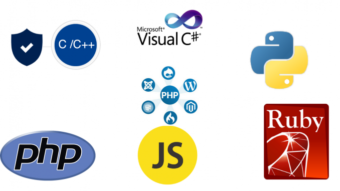top programming language of 2018