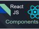React JS Components