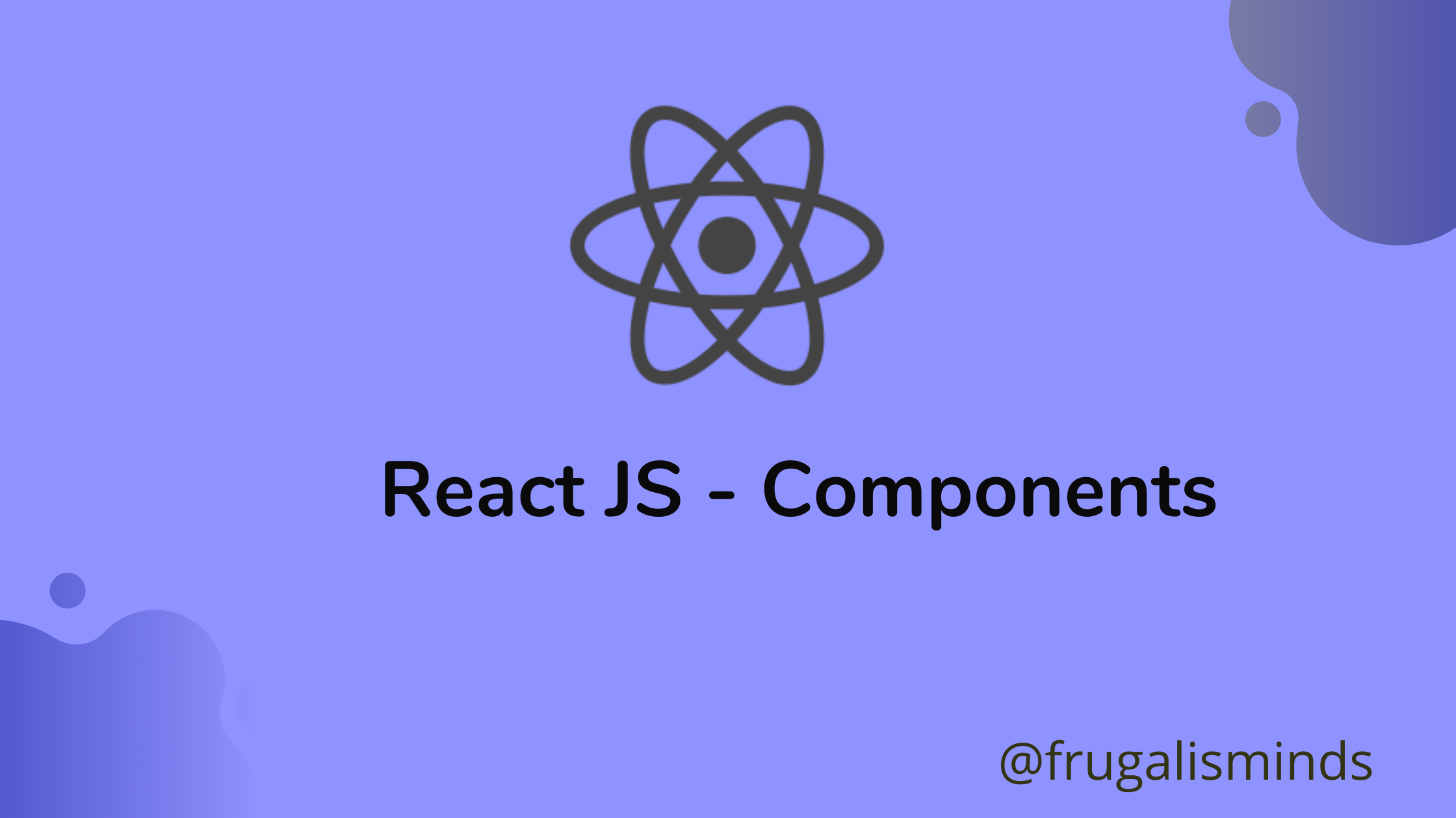 React JS components Example