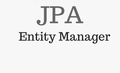 JPA Entity Manager Example