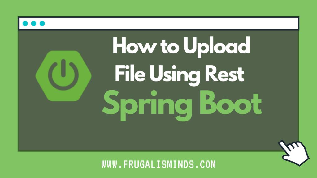 Spring Boot file upload