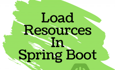 Load Resources From Classpath In Spring Boot