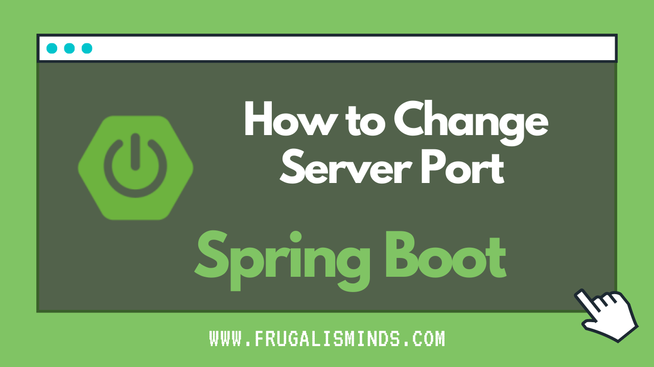 How to Change Server Port in Spring Boot App
